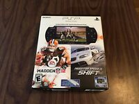 Sony Psp 3000 Limited Edition Sports Entertainment Pack System Madden 12 / Nfl