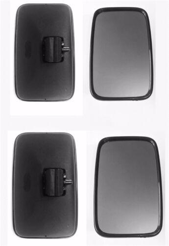 2x Außenspiegel Rückspiegel  310x195 ø14-22mm Mercedes LKW BUS Traktor UNIVERSAL