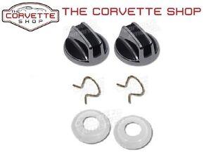C3 Corvette Interior Inside Door Lock Knob Clip Plastic Spacers