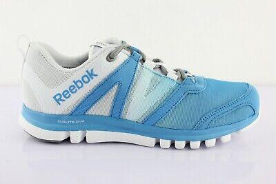 Reebok SUBLITE STUDIO Damen FLAME Sportschuhe Schuhe Trainingsschuhe Gym Weiß