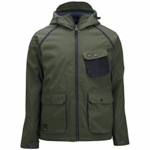 In Voi With New Khaki Jeans Medium Size Jacket Green Tags Mens Hooded qvIZvr