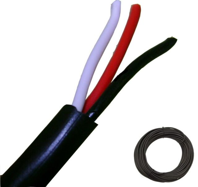 JSC Wire 75 Feet 3 Conductor Wire Antenna Rotator Cable | eBay