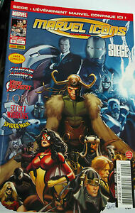 SIEGE - Marvel Icons Hors Serie 20 (2011 PANINI )- Vends autres titres SIEGE YgwHIft7-08140150-529430042