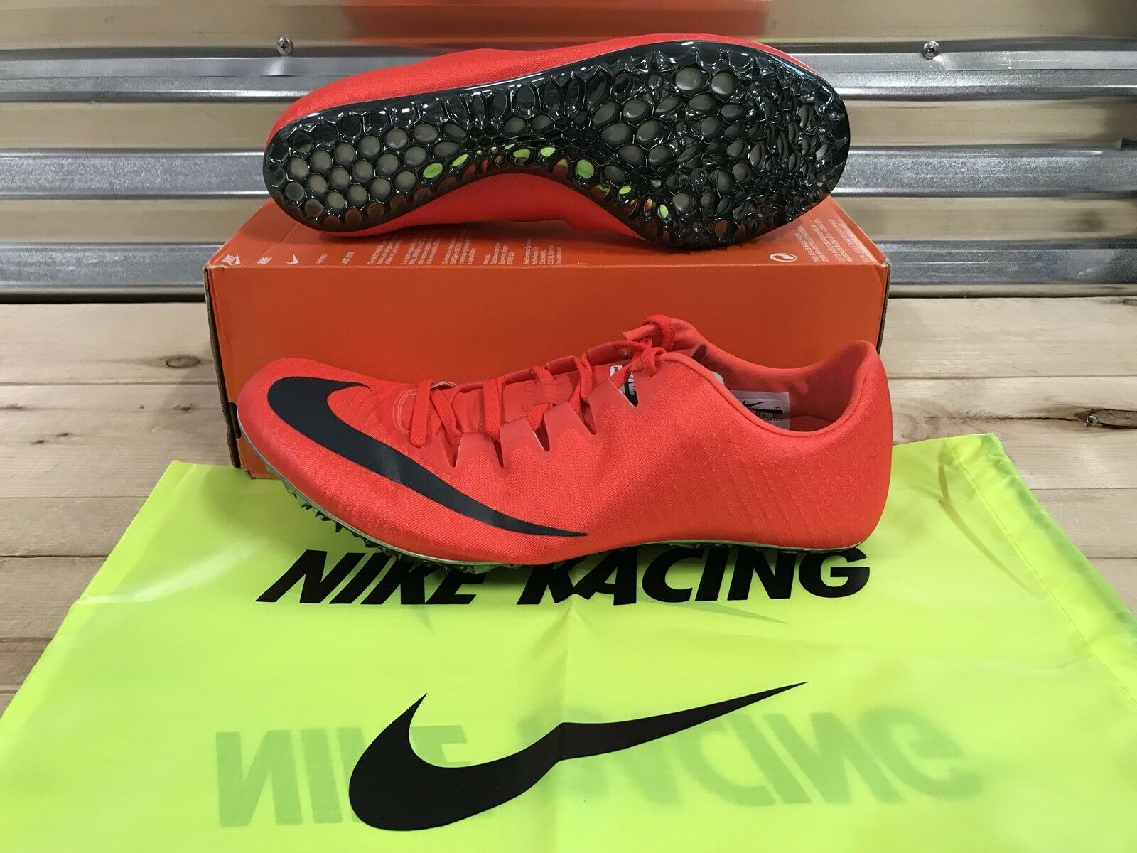 Nike Zoom Superfly Elite Track & Field Spikes Bright Crimson Fox ( 835996-614 )