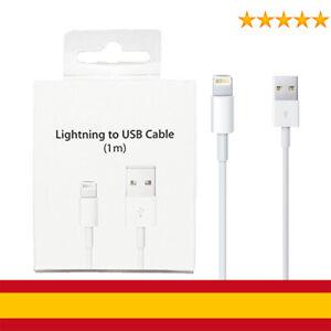 Detalles de Cable USB Lightning Rápida Cargador Datos para iPhone 6,6s,7,8,X,XR,XS,MAX, iPad