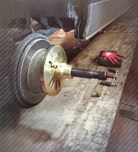 Werkzueg Heavy Duty 12 Ton Hydraulic Wheel Hub Puller Pro 1017-1 LGV/'s
