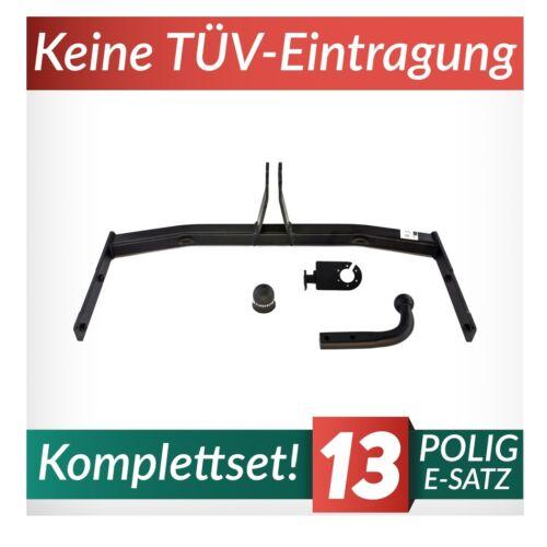 Für Seat Cordoba II 6L Stufenheck 03-10 Kpl Anhängerkupplung starr+E-Satz 13p