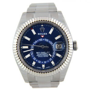 Details about Rolex Sky,Dweller 326934 Stainless Steel Blue 42mm Watch