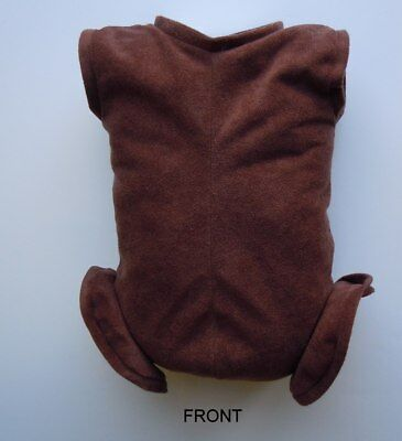 """Doe Suede Body for 21-22/"""" Dolls Full Unjointed Arms 3//4 Jointed Legs #1495"""