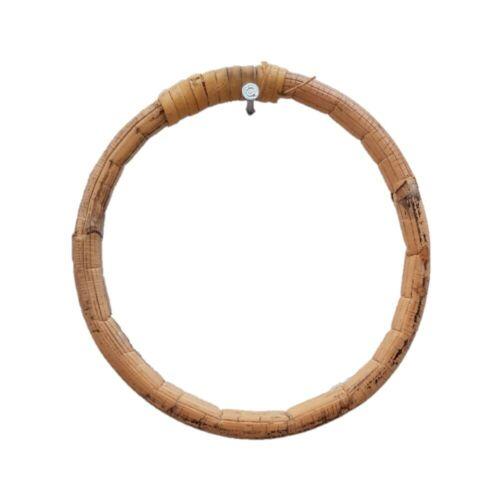 1pce 9cm Rattan RIng Bamboo Dream Catcher Hoop Natural Handmade