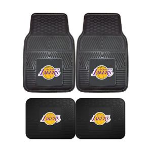 Los-Angeles-Lakers-NBA-2pc-and-4pc-Mat-Sets-Heavy-Duty-Cars-Trucks-SUVs