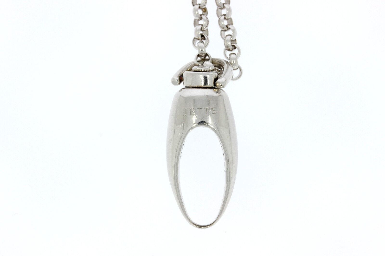 Sr562-925er catena argentoo con con con ciondolo catena lunga 80 cm CIONDOLO 4 5x1 56 cm 7155c3