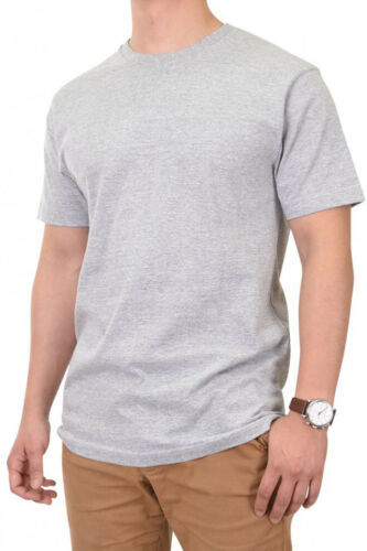 Knocker Mens 100/% Cotton Tee T Shirt Crew Neck 5.6 oz Solid Plain Blank S M L XL