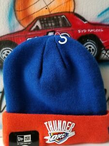 f1dfff75a5a Image is loading New-Era-NBA-Oklahoma-City-Thunder-Beanie-Hat