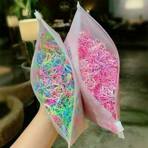 1000pcs-Hair-Rings-Candy-Color-Hair-Ropes-Ponytail-Holder-for-Girls