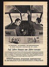 3w1367/ Alte Reklame von 1959 - CONVAIR 880 Jet-Liner
