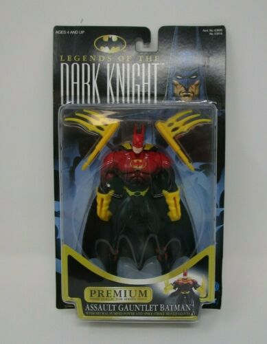 Assaut Gauntlet BATMAN 1996 Legends of the Dark Knight Kenner Comme neuf on Card