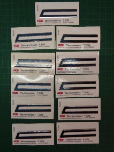 11 x Thermomesser Heisschneidemesser von AZ; Typ T 2//50; NEU /& OVP