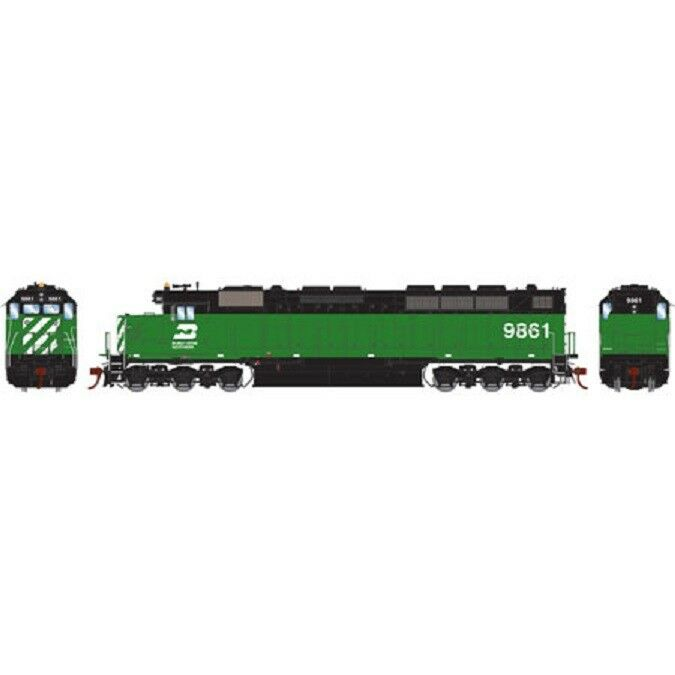 HO Scale Athearn Genesis 63593 * Burlington Northern SDP45  9861