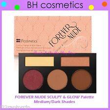 NEW BH Cosmetics FOREVER NUDE SCULPT & GLOW Contour/Blush Palette-Medium/Deep