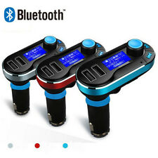 BT66 Bluetooth Car Kit Audio MP3 Player FM Transmitter For iOS Andriod Phone New