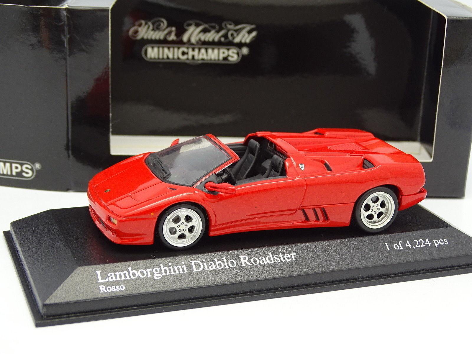 Minichamps 1 43 - Lamborghini Diablo Roadster rosso