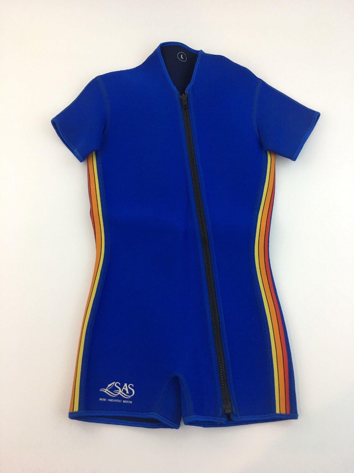 SAS Sub Aquatic Suits Neoprene WET SUIT Men's   LARGE  cheaper prices