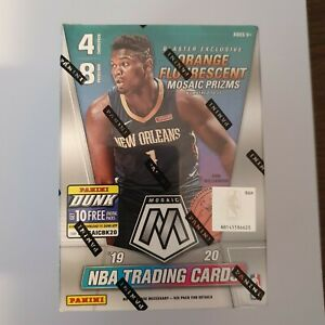 Mosaic Panini 2019 2020 NBA Basketball Cards Sealed Blaster Box - Zion Ja Herro