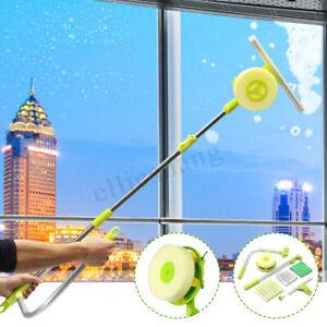 U-Type-Telescopic-Window-Glass-Clean-Brush-Cleaner-High-Rise-Dust-Washing-Tool