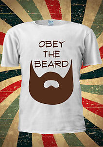 Obey the beard Unisex Men/'s and Women/'s T-Shirt obey the beard t shirt
