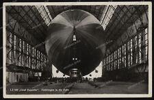 Foto-AK-Zeppelin-LZ 127-Graf Zeppelin-Luftschiff-Halle-Friedrichshafen