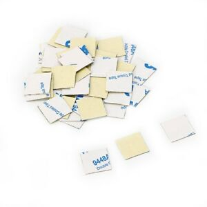 50Pcs 14*14mm Heatsink Thermal Double Side Adhesive Tape Sticker for CPU Screen