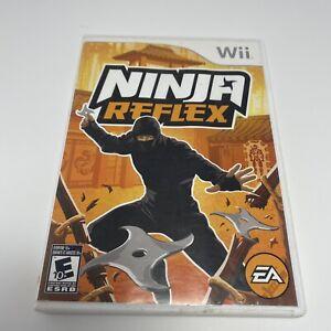 Ninja Reflex - Nintendo Wii Video Game - Complete w/ Manual - Tested