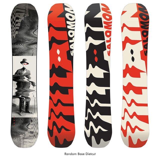 2019 Salomon The Villain Mens Snowboard 153cm