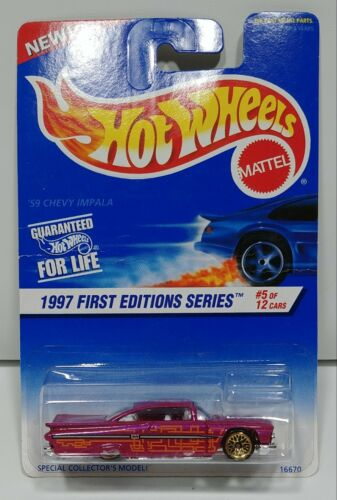 Hot Wheels 1997 First Editions Series 59 Chevy Impala #5 of 12