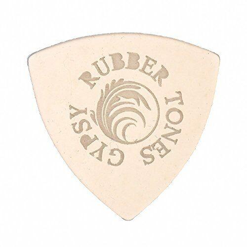 Rubber Tones Gypsy RUBG-CLSI-1 Silicon Plectrum Ukulele Pick Clear