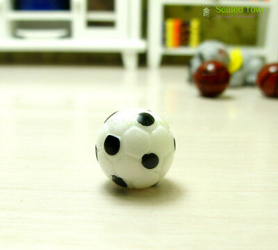 1:12 Dollhouse Miniature Furniture Soccer Football Toy Sports Ball Game 5Pcs //