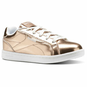 100f990a REEBOK ROYAL COMPLETE CLEAN CLASSIC SHOE SHOES CN1292 GOLD (IN STORE ...