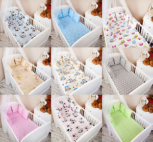 Details About Baby Bedding Bumper Set 100x135 For Baby Bed Blanket Pillow Bed Edging Show Original Title