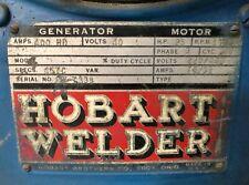 Industrial Hobart Welder With Cart Tig 250250 Ac 622944 9681