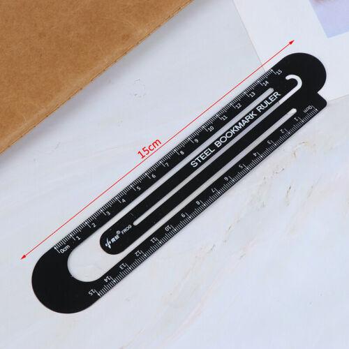 12 cm 15 cm Stahl Lineal Metall Lesezeichen Studenten Zeichnung Lieferun hn