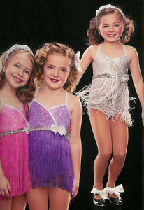 Shimmy and Shake Tap Dance Fringe Costume Girls Child XS