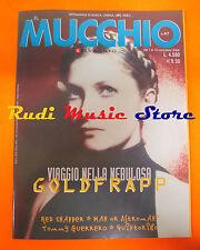 Rivista MUCCHIO SELVAGGIO 417/2000 Goldfrapp Red Snapper Man Or Astroman  No cd