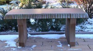 Concrete Mold Bench Top Long 40 Quot Cover Cement Concrete