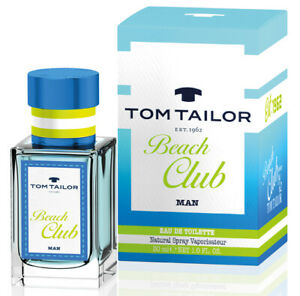 Details about Tom Tailor Beach Club Edt Eau de Toilette Spray for Men 30ml 1fl.oz