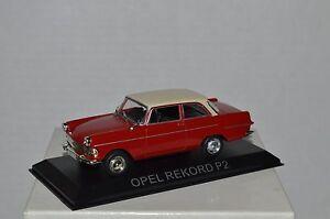 OPEL REKORD P2 Legendary Cars Auto Die Cast Scala  1:43 MZ