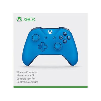 Genuine Microsoft Xbox One S Blue Wireless Bluetooth Controller WL3-00018