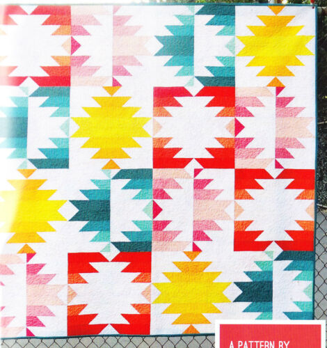 modern version of traditional quilt PATTERN Solar Eclipse Elizabeth Hartman