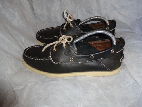 9 oscuro Tamaño de Us cuero de 9 cordones Vgc Zapatos Timberland 5 Hombre verde 43 Uk Eu 5 8xZRqF