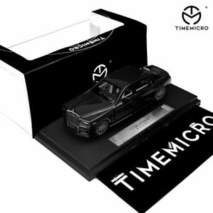 Pre-order TimeMicro Scale 1//64 Rolls Royce Mansory Phanton black